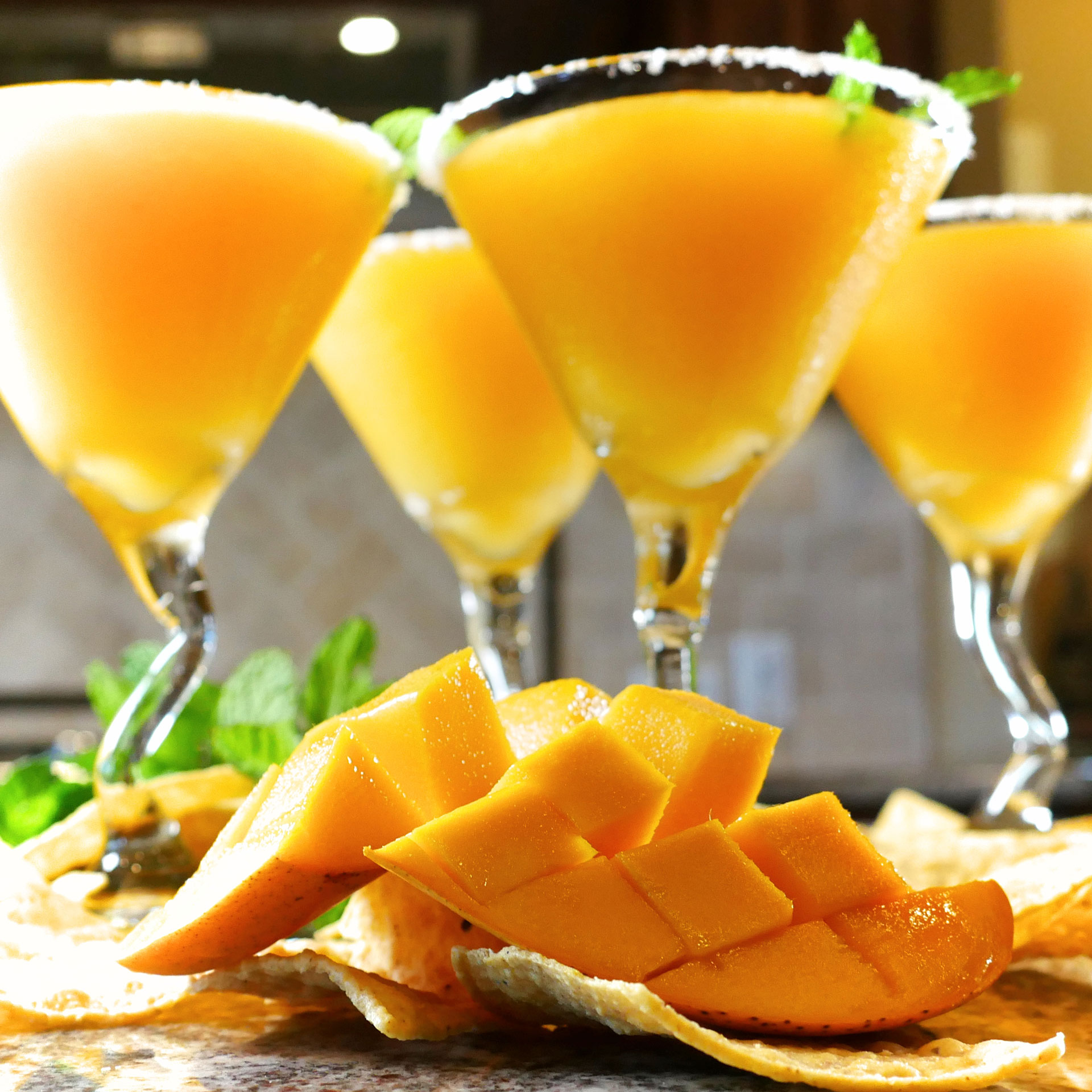 Champagne Mango Margarita