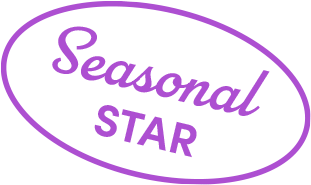 Purple Seasonal Star Asset